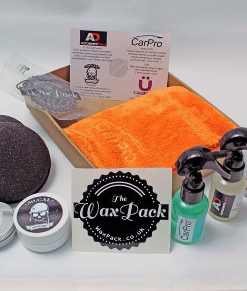 picture of a detailing sample box