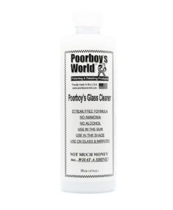 Poorboys glass cleaner